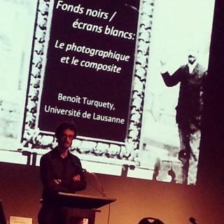 Benoît Turquety, Fonds noirs / écrans blancs : Le photographique et le composite