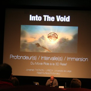 Jonathan Thonon – Into The Void. Profondeur(s) / Intervalle(s) / Immersion  Du Movie Ride à la 3D relief