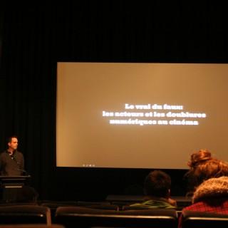 Justin Baillargeon – « Le vrai du faux : les acteurs et les doublures numériques au cinéma »